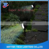 Factory Manufacture Newest Outdoor LED Garden Solar Powered Flag Pole Light Solar LED Spot Lawn Light with 12pcs LEDs