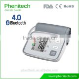 Bluetooth Automatic Electronic Blood Pressure Monitor Digital BP Monitor for Household