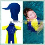 Boys Swim Training Floatsuit Swimming Aid Float Suits with Short sleeves Size S-M-L for Kids aged 2-3-4-5yrs old F4340