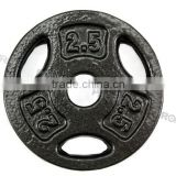 gym equipment barbell cast iron standard weight plate