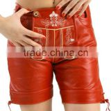 contrast piping shorts with zip back waistband pocket sporty skin-tight liner short for womens