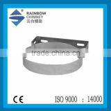 CE Chimney stainless steel flue pipe accessories stove wall bracket flue pipe fittings flue kits