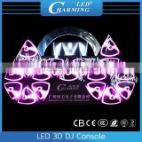 led 3d DJ Console display good for nightclub/diso lighting/KTV light,led decoration in fashion