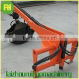 Small hydraulic tractory log grapple