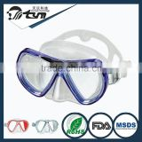 oem available cheap price silicone jumbo face skirt design diving mask