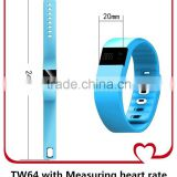 TW64 Upgraded !! Smart Wristbands JW86 with Heart Rate Call/Dial/Answer Call Camera Bluetooth 4.0 for iPhone Andriod Phone Bands