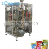 automatically bag-making, weighing, filling, sealing, cutting, counting, pressing batches, packaging machine