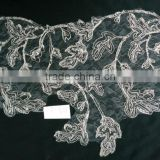 Custom clothe accessories garment used fashion water-soluable crochet lace