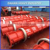Steel reinforced concrete pipe making machine concrete gutter pipe mould factory price