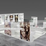 Modular hair extension booth | hair extension booth design | hair extension booth for USA trade show