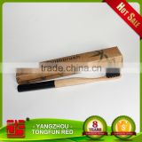 100% biodegradable bamboo bristle round head toothbrush picture soft bristle adult toothbrush