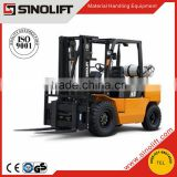 2015 SINOLIFT L Series 4T 4.5T 5T Internal Combustion LPG Counterbalanced Forklift Truck for Sale