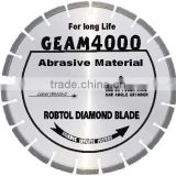 Laser welded segmented small diamond Saw blade fot long life cutting extremely abrasive material/Laser welded diamond blade
