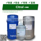 Natural Citral Get from Lemongrass Oil Extraction Plant CAS 5392-40-5