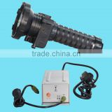 Waterproof 50M hid ballast flashlight of 2200Lumen