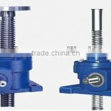 New type worm screw jack SWL1T-120T for mashine building industry