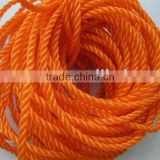 Plastic rope color rope colored clothes line rope