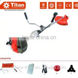 New brush cutter 52cc, 2 stroke, air-cooled, 3 teeth blade & nylon spool, CE,GS,MD certificate