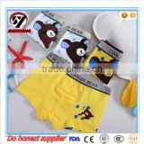 China Factory Hot Cotton Stripe Fashion Cute Trendy Young Teenage Boy Thong Panties Models Children