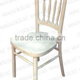 White Wedding Wood Chairs