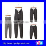 wholesale 100%cotton fleece Leisure cheap sport pants for men