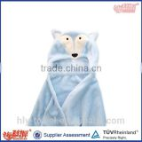 china factory hot sale super soft baby poncho cute hooded towel for babies