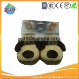 Plush Warm Infants lovely dog slippers baby shoes