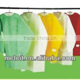Disposable lab coat fabric,SMS/PP/PP+PE nonwoven