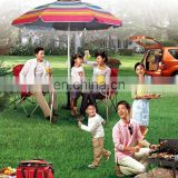 Wholesale Large size Customized design beach and garden Umbrella for picnic Outdoor umbrella parts