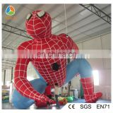 Advertising inflatable spiderman,filling helium spiderman model,giant inflatable spiderman