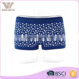 Star pattern tight mature quick dry hot sale wholesale women hip up panty