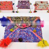 Indian Banjara Clutch ethnic Messenger Bags Purse Vintage Tribal Banjara clutch kutch embroidery Handmade Designer
