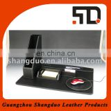 New Promotional Product File Holder and Mouse Pad Fake Leather Desk Set
