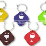 PVC Christmas Wine Bottle Charms