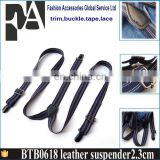 FREE SAMPLE FACTORY PRICE WHOLESALE Leather Work Suspenders
