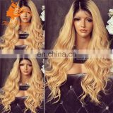 honey blonde human hair full lace wig body wave blonde brazilian hair full lace wig human hair ombre wigs for woman blonde