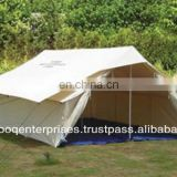 Double fly single fold tent