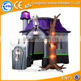 Decorative halloween inflatable haunted house for sale