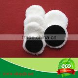 Lamb wool buffing pad