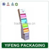 Supermarket Promotional Cardboard Display / Pop Up Display Stand / Promotional Cardboard Pallet Display