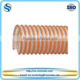 Flexible PVC suction & delivery hose, rigid PVC/nylon helix reinforced plastic pvc hose pipe