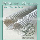 China high quality PVC Flexible ventilation hose pipe Clothes Dryer Parts drain pipe fitting air conditioner