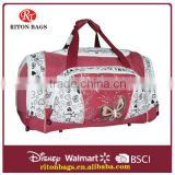 Pretty patterned travel luggage bag for laies                                                                         Quality Choice