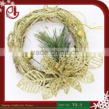 XMAS Decoration Wood Glitter Powder Ornaments Layout Activities Window Gift Wholesale Christmas Garland