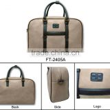 High quatily camel colour PU Hot sale item Men Travel luggage Document Bag big size special price