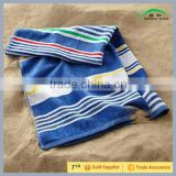 Yarn Dyed Jacquard Beach Towel 100% Cotton for Hair Dry