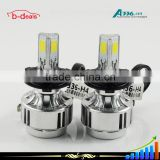 B-deals 12 month warranty car LED lighting, h4 h11 h13 9006 9007LED headlight,A336 led headlight conversion kit