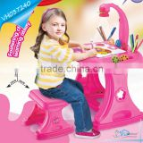 Children Digital Light Drawing Table Toy 4 in 1