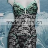 Wholesale Sexy Womens Underwire Lingerie Set Cool Lace Bra Underwear G-string Ladies Sleepwear Nightwear