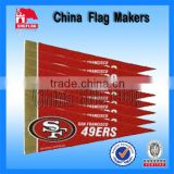 Custom logo design felt sport banner flag for sale                                                                         Quality Choice